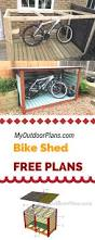 Rubbermaid Roughneck Storage Shed Accessories by Learn How To Build A Bike Shed Using My Free Plans And