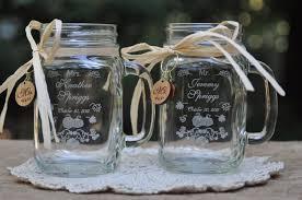 Etched Mason Jars For Wedding
