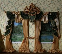 Brown And Teal Living Room Curtains by Interior Living Room Drape With Valance Using Light Brown And