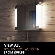 illuminated bathroom cabinets shop for demister bathroom