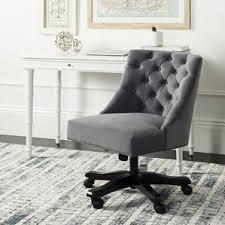 Wayfair Swivel Desk Chair by Wood Office Chairs You U0027ll Love Wayfair