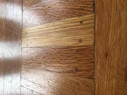 scratches from my big dog on hardwood floor what should i do
