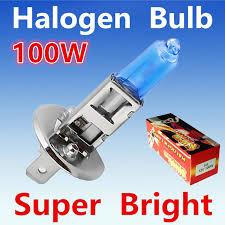 2pcs h1 100w 12v halogen bulb xenon white fog lights high