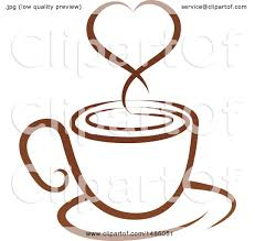 Cup Hot Coffee Drink White Vector Stock 498426865