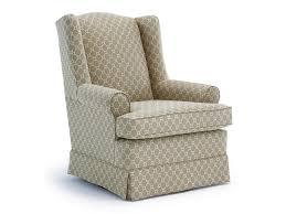 Swivel Glide Chairs Roni Skirted Swivel Glider Chair By Best Home  Furnishings At Wayside Furniture