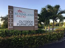 Sunniland Patio Boca Raton Fl by Monument Signs Sign Partners Sign Company Boca Raton