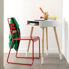 Parsons Mini Desk Aqua by 10 Kids Desks For Small Spaces
