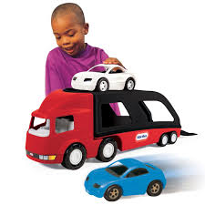 Little Tikes Big Car Carrier - Red-Black - Toys