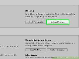 3 Ways to Hard Reset an iPhone wikiHow