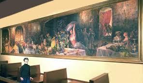 Jennifer Carrasco mercial Murals Palace Kitchen Mural