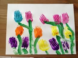 Spring Art Activities For Kindergarten Craft Ideas Preschoolers L6uN1eqp