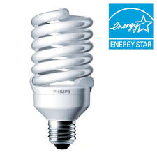 philips 100w equivalent daylight 5000k t2 cfl light bulb 414094