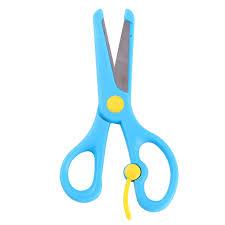 Art Scissors Childrens Manual Diy Not Hurt Hand Kindergarten Paper Cutting Knife Stainless Steel Student Wholesale