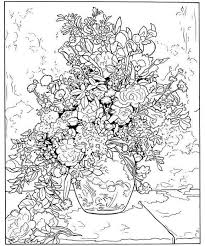 Color Your Own Renoir Paintings Dover Publications A FULL COLOR Picture Is Located On My Other Board Finished Coloring Pages