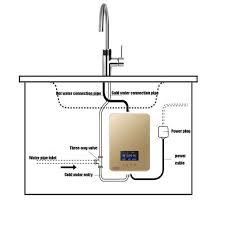 btssa intelligente tankless elektrischer durchlauferhitzer