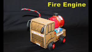 100 Fire Trucks Youtube How To Make A FIRE Engine From Cardboard RC Engine YouTube