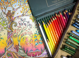 Enchanted Forest Video Review With Finished Pages La Artistino Peta Hewitt PicturesAdult ColoringColoring BooksJohanna
