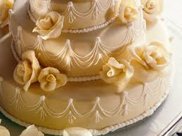 dreistöckige marzipan torte