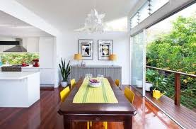 Modern Sliding Glass Door Designs That Connect The Dining Room To Balcony