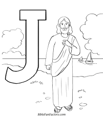 Coloring PagesColor Pages Of Jesus Jforjesus Color