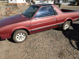 100 Medford Craigslist Cars And Trucks 1982 Subaru BRAT Rust Free Manual For Sale In Phoenix Arizona