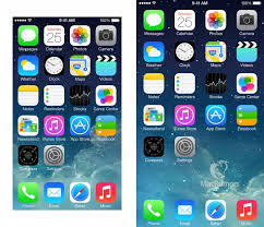 iPhone 6 mockups show extra row of App icons on Home screen