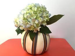 Fake Carvable Foam Pumpkins by Make Your Own Craft Pumpkin Vase Holder Diy Network Blog Made