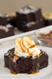 vegane brownies mit schwarzen bohnen banane brownies ohne reue