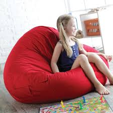 King Fuf Bean Bag Chair by Gold Medal Fashion Large Leather Look Vinyl Bean Bag Chair Hayneedle