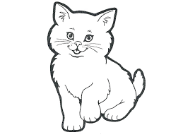 Cat Face Coloring Page Of Caterpillar