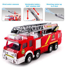 100 Fire Truck Sirens Amazoncom Litzpy 10 With Bump And Go Action Sprays