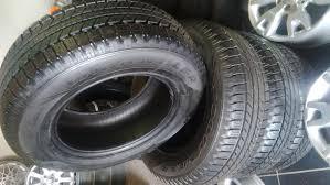 265/65/17 4x New Tyres Goodyear Wrangler Or Dunlop Grandtrek Set ...