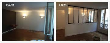 separation de chambre verrière pour séparer une chambre et un salon