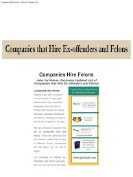 Companies That Hire Felons - Get This Updated List | Companies Of ... Rources Recovery Catoosa Prevention Iniative Capi Trucking Companies That Will Hire Anyone Youtube Top 10 Careers For Felons Better Future Jobs For Any Tanker Straight Out Of School Page 1 Decker Truck Line Inc Fort Dodge Ia Company Review Driver Jobs Pimeter Transportation Get This Updated List February 2018 My Lifted Trucks Ideas Best To Work Home Time Starting Cdl Learn The Basics Alltruckjobscom Exoffender In Texas Needs Job Search Help Exoffenders Anybody