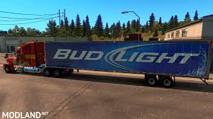 Bud Light Trailers V. 2016-10-14A Mod For American Truck Simulator, ATS Bud Light Beer Truck Parked And Ready For Loading Next To The Involved In Tempe Crash Youtube Dimension Hackney Beverage Popville The Cheering Bud Light Was Loud Trailer Skin Ats Mods American Simulator Find A Gold Can Win Super Bowl Tickets Life Ball Park Presents Dads Rock June 18th Eagle Raceway Austin Johan Ejermark Flickr Lil Jon Prefers Orange Other Revelations From Bud Light 122 Gamesmodsnet Fs17 Cnc Fs15 Ets 2 Metal On Trailer Truck Simulator Intertional