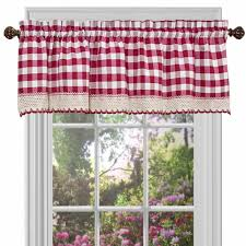 Walmart Rooster Kitchen Curtains by Trendy Red And Black Valance 26 Red Black And Gray Valances Jpg