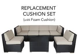 Walmart Patio Furniture Cushion Replacement by Peachy Outdoor Furniture Cushions Replacement Simple Ideas Walmart