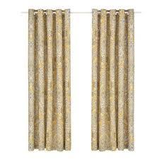 magnolie blumen gardinen vorhang polyester mit ösen