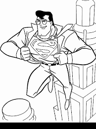 Animated Coloring Pages Superman Image 0007
