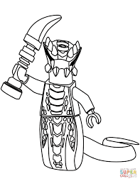 Lego Ninjago Acidicus View All Coloring Pages