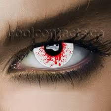 Prescription Colored Contacts Halloween Uk by Red Vampire Contact Lenses Red Contacts
