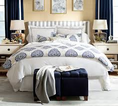 Pearl Embroidered 280 Thread Count Duvet Cover & Sham