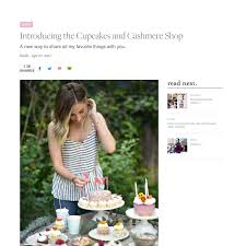 Cupcakes And Cashmeres Shopping Platform Launched With 200 SKUs In Categories Of Fashion Home Gifts