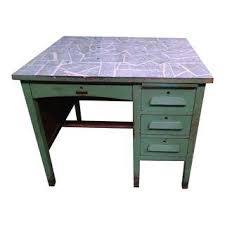 vintage used desks chairish