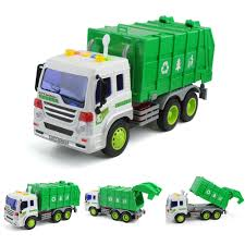 100 Rubbish Truck LARGE 116 GARBAGE Bin Lorry Light Sound Recycling