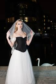 black and white corset wedding dress style u0026 trashion