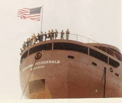 What Time Did The Edmund Fitzgerald Sank by Ecorse John Duguay And The Edmund Fitzgerald Ecorse Along The
