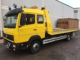 100 6 Wheel Mercedes Truck MERCEDESBENZ 814 Hengen Ohjaamo Liukulava Tow Trucks For Sale