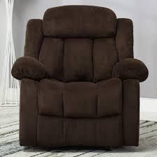 Bonzy Home Recliner Heavy Duty Manual Recliner Chair - Home Theater Seating  - Bedroom & Living Room Chair Recliner Sofa (Dark Brown) Modern Faux Leather Recliner Adjustable Cushion Footrest The Ultimate Recliner That Has A Stylish Contemporary Tlr72p0 Homall Single Chair Padded Seat Black Pu Comfortable Chair Leather Armchair Hot Item Cinema Real Electric Recling Theater Sofa C01 Power Recliners Pulaski Home Theatre Valencia Seating Verona Living Room Modernbn Fniture Swivel Home Theatre Room Recliners Stock Photo 115214862 4 Piece Tuoze Fabric Ergonomic