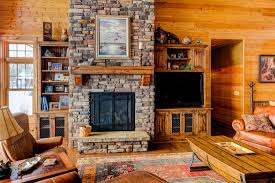 decorations lovely grey stone fireplace design with wooden